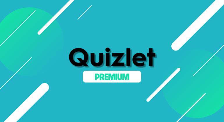 Bán Tài Khoản Quizlet Plus